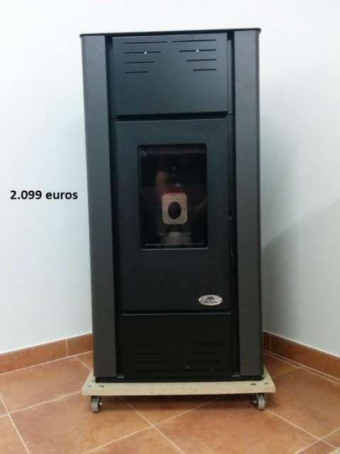 . Hidroestufa de biomasa de 15 kw. para acoplar a tus radiadores o suelo radiante. Env�os a toda la pen�nsula. www.calpellet.es y en facebook
