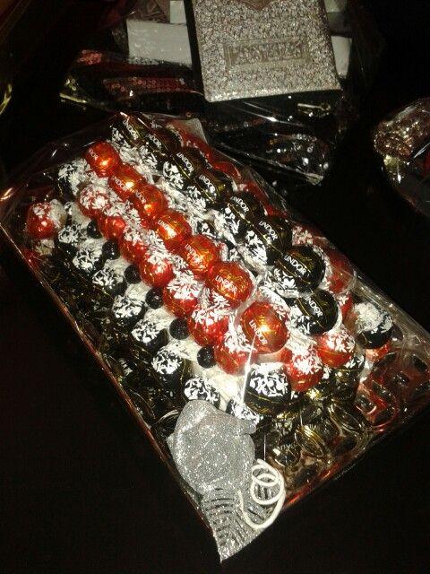 Gift idea 2: Lindt ball platter
