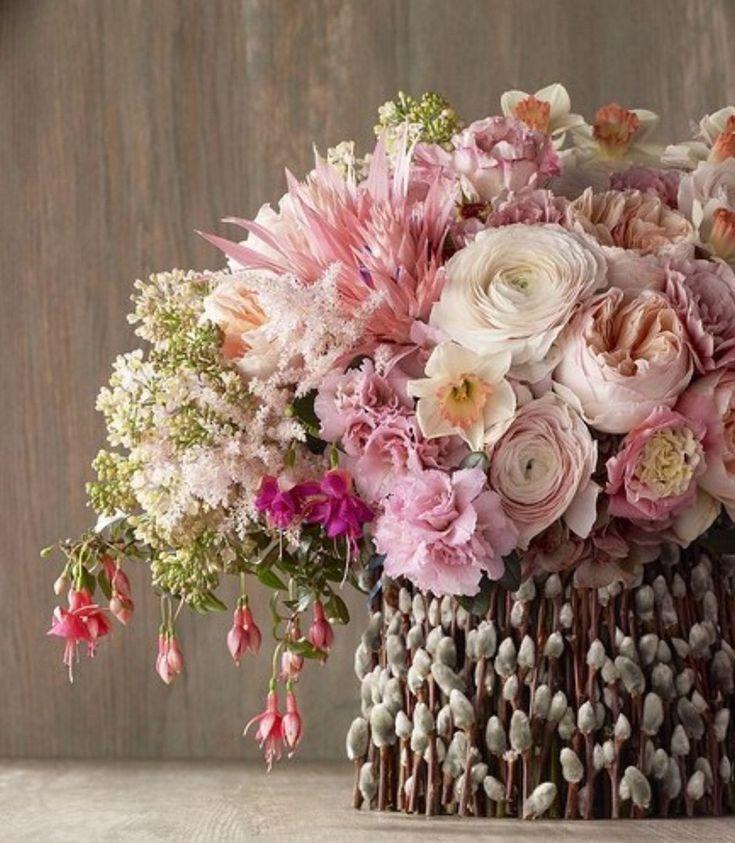 Дизайнерский букет весенний цветы