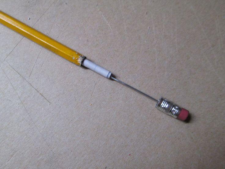 secret compartment in pencil