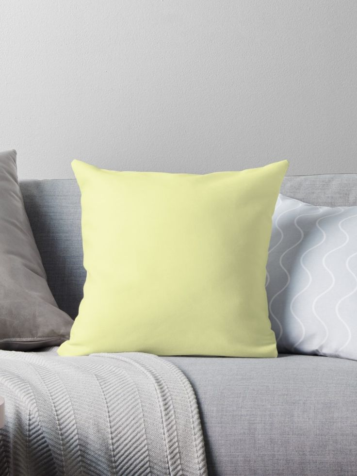 'Vanilla' Throw Pillow by Moonshine Paradise #redbubble #vanilla #pantone #pillows #homedecor