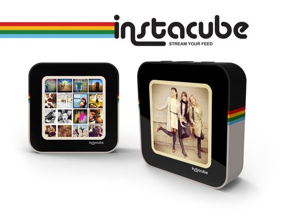 Instacube is essentially a digital photo frame that pulls directly from Instagram