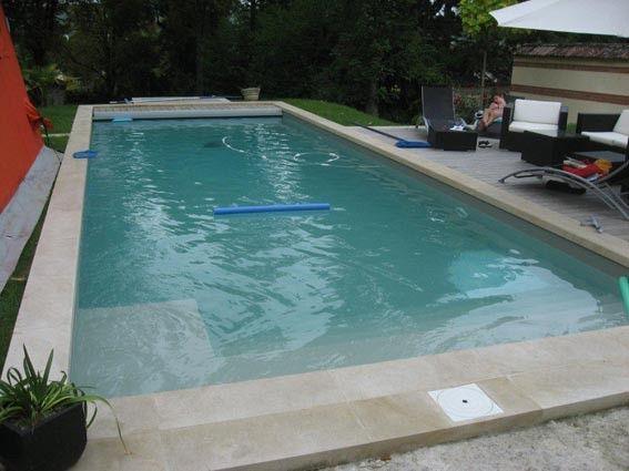 Les 70 meilleures images propos de ga maison landes for Installation liner piscine