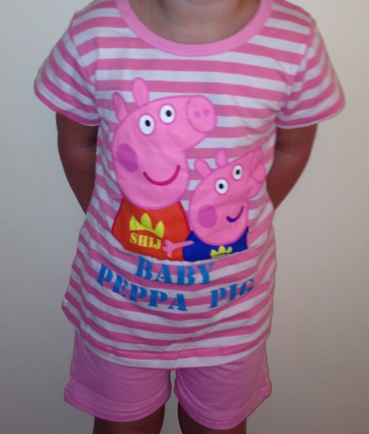 Peppa Pig Summer Pj's - available now. Limited sizes left $15.00