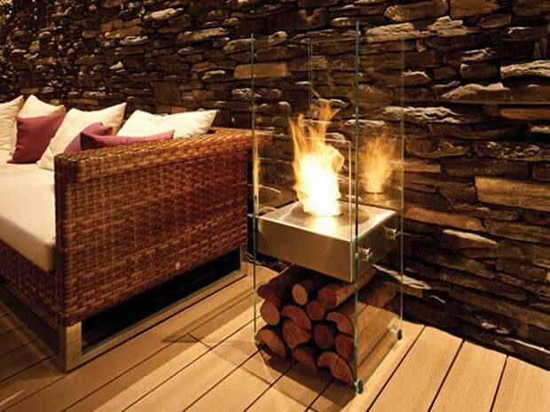7 Portable fireplaces: start choosing your favorite design for the winter