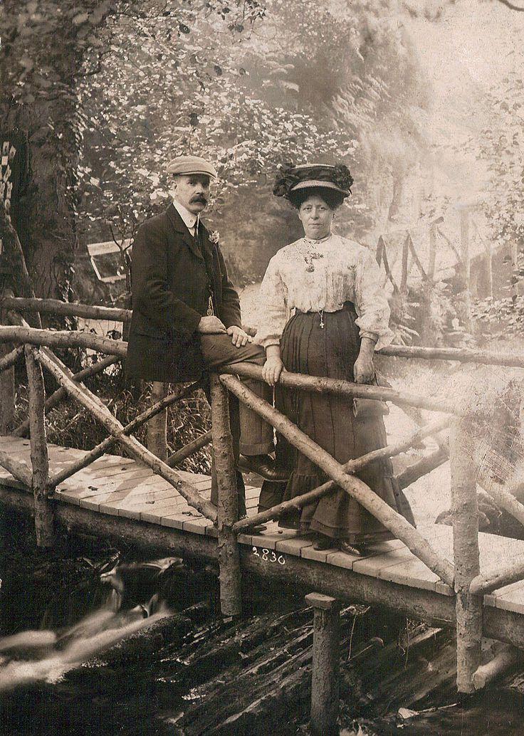 My Great Grandparents William & Harriet Edwards (nee Newton) photo taken Isle of Man, England - 1898