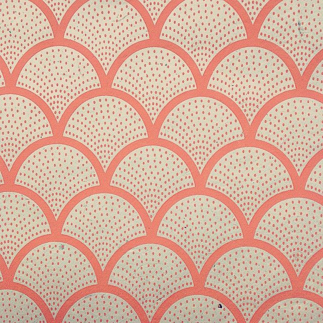 Prachtig patroontje. Decoratie papier uit Nepal. Uit onze Return to Sender collectie.