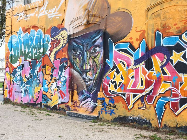 street art La Rochelle quartier du Gabut