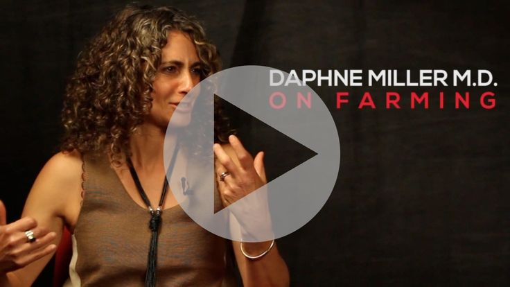 Dr. Miller on Organic Farming and explains why our health relies on the decisions farmers make on their farm.