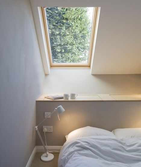 London studio alma-nac has staggered the floors of this extension to a 2.3 metre-wide terraced house in south london