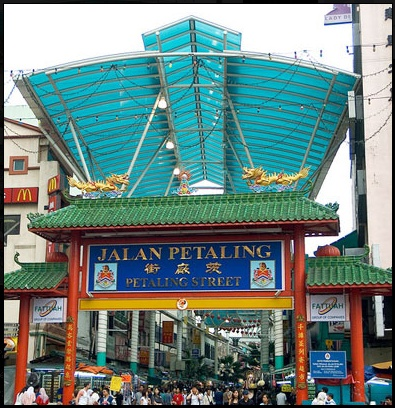 Petaling Street is KL's very own Chinatown is a hive of sounds and  activities located in