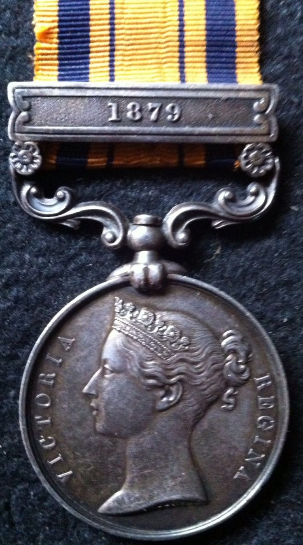 South Africa Medal, 1879 (ZULU WARS)