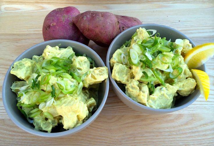 Kumara and Banana Salad