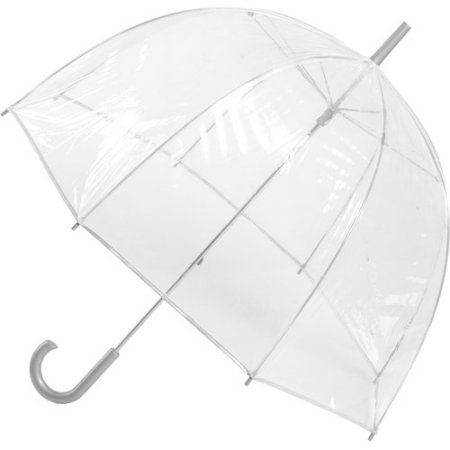 Totes Classic Canopy Clear Bubble Umbrella Walmart.com $14.00
