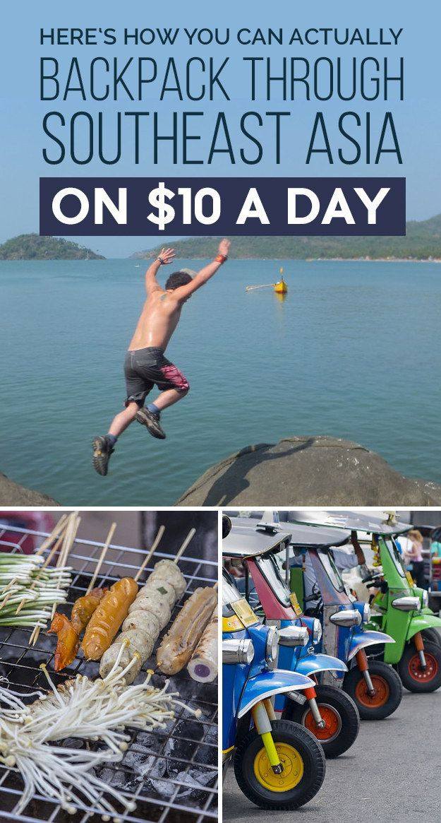 This Is How A Guy Traveled Through Southeast Asia On Just $10 A Day