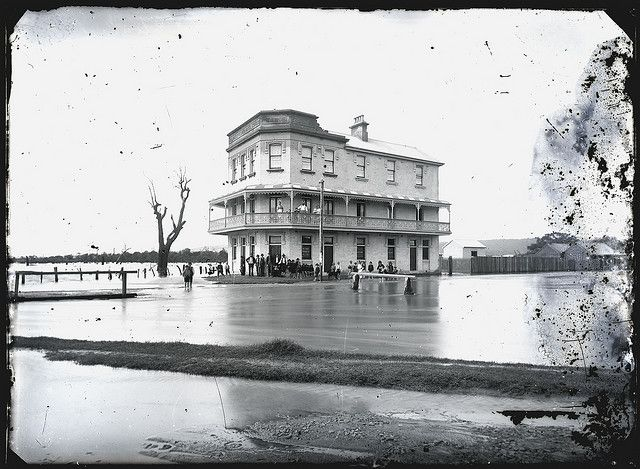 Premier Hotel, Broadmeadow, NSW, 18 March 1892. Cultural Collections, University of Newcastle, NSW, Australia