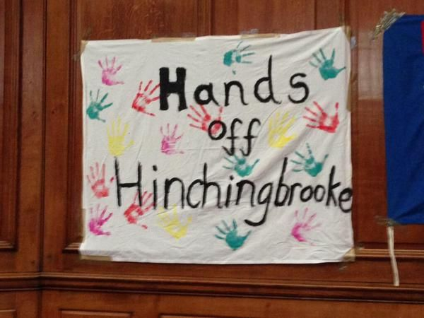 Some artwork from the 'Hands of Hinchingbrooke'