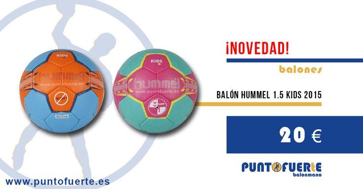 Nuevos #balones #Hummel 1.5 #Kids 2015 para niño/niña. Pelotas de #balonmano de buena calidad para entrenamiento. Disponibles en talla 1.