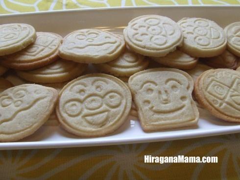 Anpanman cookies!