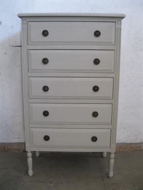 meuble chiffonnier 5 tiroirs tj mobilier nouveautes. Black Bedroom Furniture Sets. Home Design Ideas