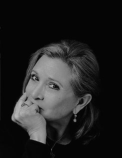 Nerds never got the cheerleader or the homecoming queen. No matter, we got the princess. RIP Carrie Fisher. You were my first role model. You taught me I could be a princess AND a badass. May    the Force be with you, Always.   12/27/16