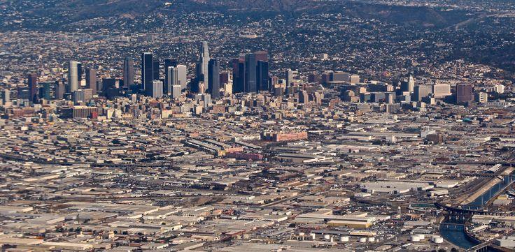 L.A. skyline!