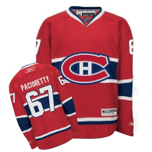 Max Pacioretty Jersey-Buy 100% official Reebok Max Pacioretty Men's Premier Red Jersey NHL Montreal Canadiens #67 Home Free Shipping.