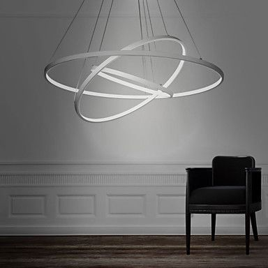 office chandelier lighting. perfect chandelier 90wpendant light modern design led three rings 220v240100120vspecial  for officeshowroomliving room with office chandelier lighting