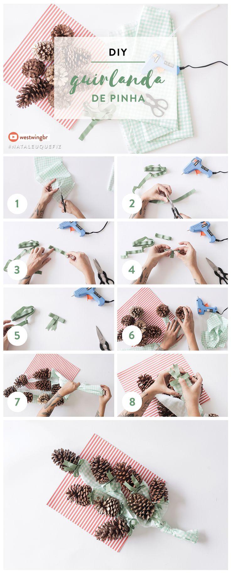 Veja como fazer este DIY especial e comece a preparar a decoração do seu Natal!