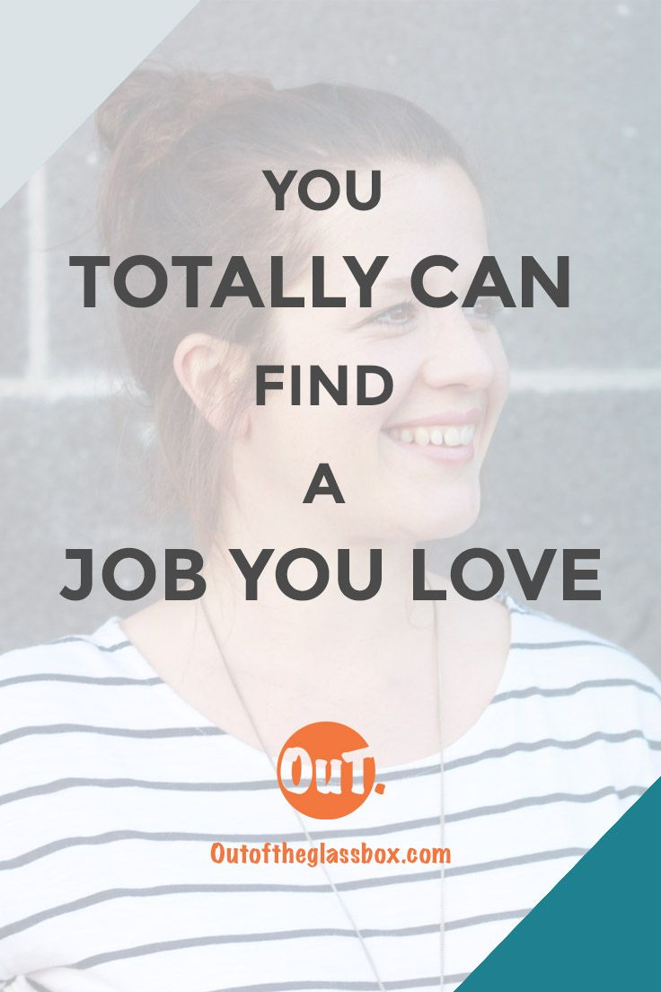 You want to find a job that not only pays the bills but a job you love? It may take a lot of soul searching and try & error but it is possible and totally worth it!