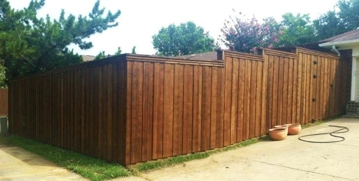 Building A Fence On Uneven Ground Privacy Metal Posts Build How To