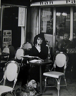 Izis Bidermanas, Café du Montparnasse, Paris 1976 - terrasse - café - bistrot