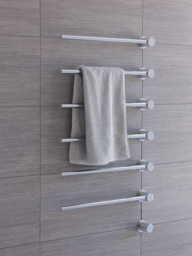Towel dryer by aarhus arkitekterne for Vola #minimalist #danishdesign #scandinaviandesign #toweldryer #aarhusarkitekterne #vola