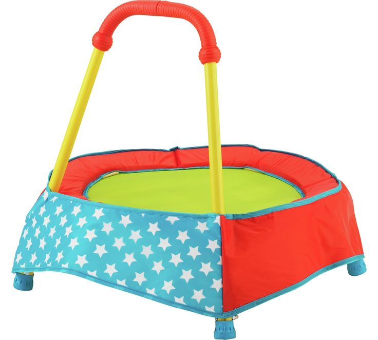 Buy Chad Valley Indoor Toddler Trampoline - Blue at Argos.co.uk - Your Online Shop for Pre-school outdoor toys and games, Pre-school outdoor toys, Baby and pre-school toys, Toys.  £29.99