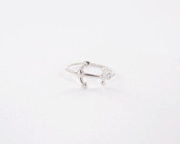 Ringe - silber Anker Ring, Anker ring - ein Designerstück von Superarmband bei DaWanda