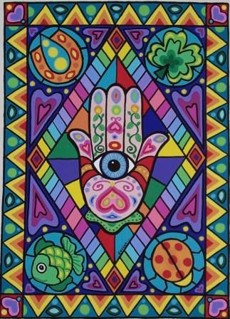 The Hand Of Fatima By Soozie Wray Visit Facebook