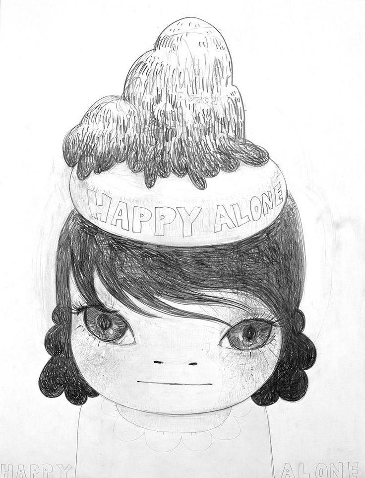 Yoshitomo Nara - Happy Alone