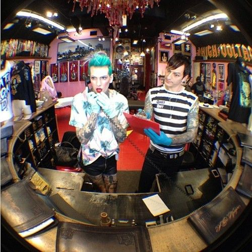 17 best images about kat von d and jeffree star for Alaska tattoo shops