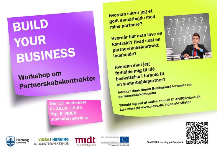 Open for all students! A workshop about how to establish a good cooperation with a business partner