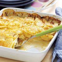Recept - Stap-voor-stap aardappelgratin - Allerhande ( met voorgrgaarde schijfjes bleef het vrij nat)