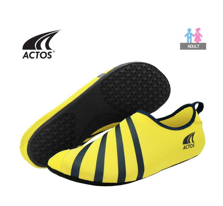BALLOP Skin Shoe  Fitness Plates Indoor Travel Water Play Sport Aqua Yoga Yellow #BALLOP #SkinAquaShoes