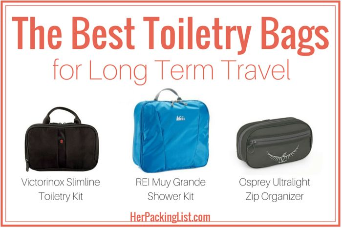 Packing toiletries for travel can be tricky. We've compared three of the best toiletry bags for long term travel along with features to help you choose the right gear.