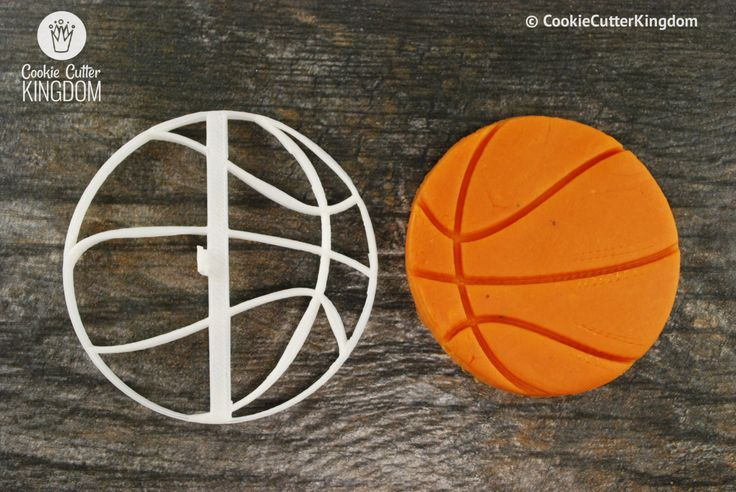 Basketball Cookie Cutter and Stamp Set