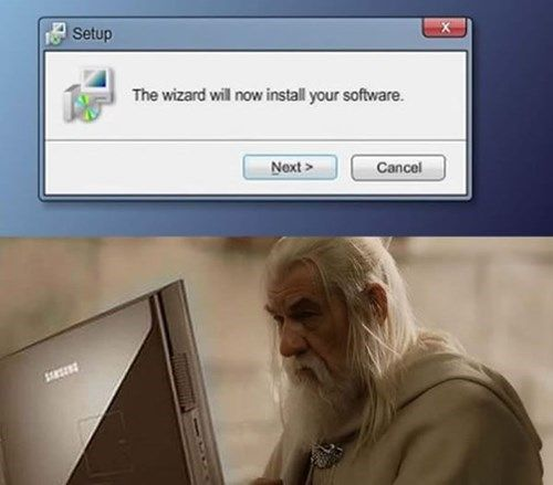 Gandalf the White Comes With A+ Certification
