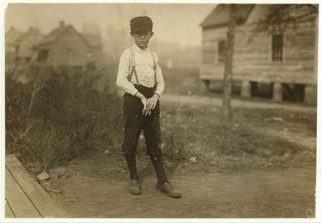 Dewey Smith Kosciusko Cotton Mills. Kosciusko, Mississippi.1913