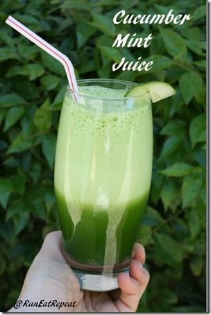 Cucumber Mint Smoothie Recipe You Can Make in a Blender Vlog