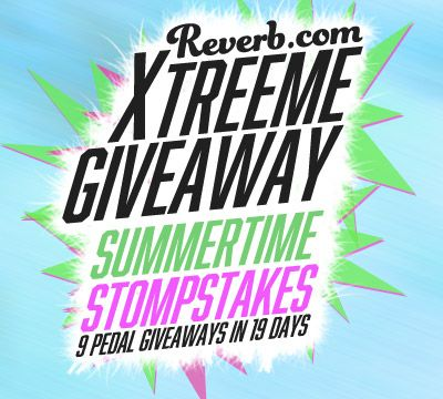 Reverb's Extreme Stompbox Giveaway - 1 Entry, 9 Pedals