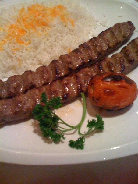 Chelo Kabob, one of the most beloved Persian dishes