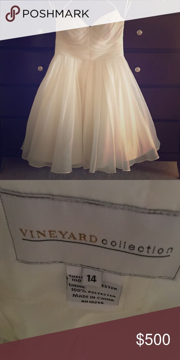 """Priscilla of Boston wedding dress Vineyard collection 