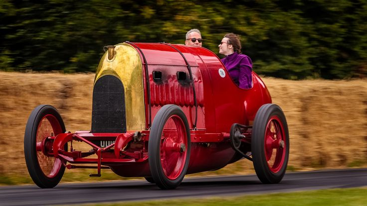| Fiat S76 1911, 28.4 litre engine, 4-cylinder | Driver Duncan Pittaway Goodwood Festival of Speed 28.6.2015
